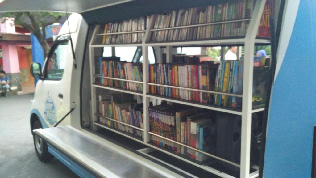 Luncurkan Mobil Pintar, Ancol Ingin Tingkatkan Budaya Baca Anak