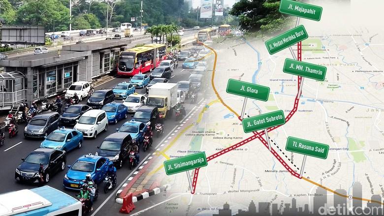 Kapolda Metro: Sistem Ganjil-Genap Setidaknya Mengurangi Kepadatan