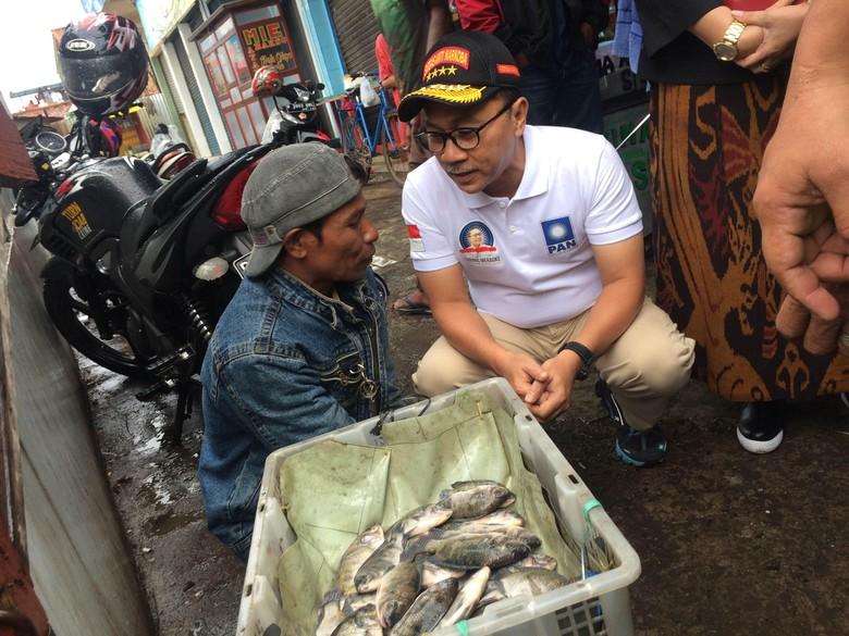 Cek Harga Sembako di Bandung, Zulkifli Hasan Minta Pemerintah Jaga Pasokan
