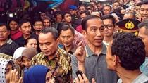 Blusukan ke Pasar Cipanas, Jokowi Dicurhati Masalah Daging dan Toko Modern