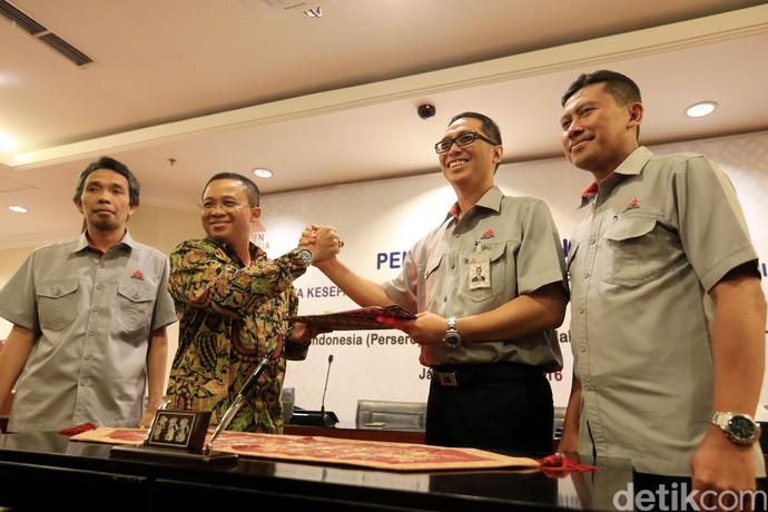 Semen Indonesia Gandeng Pelindo 1