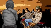 Polisi Tembak Mati 2 Begal Sadis di Medan