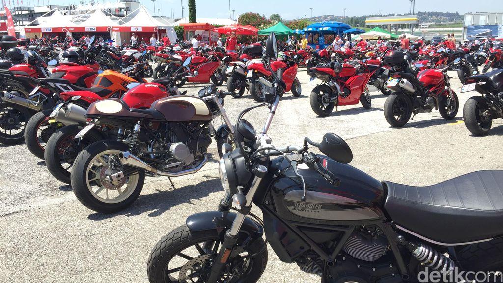 Hampir 100.000 Ducatisti Ramaikan World Ducati Week