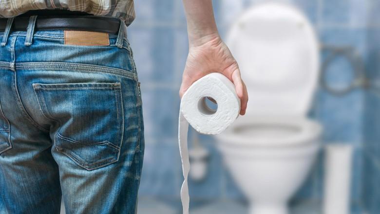 Ilustrasi toilet (Thinkstock)