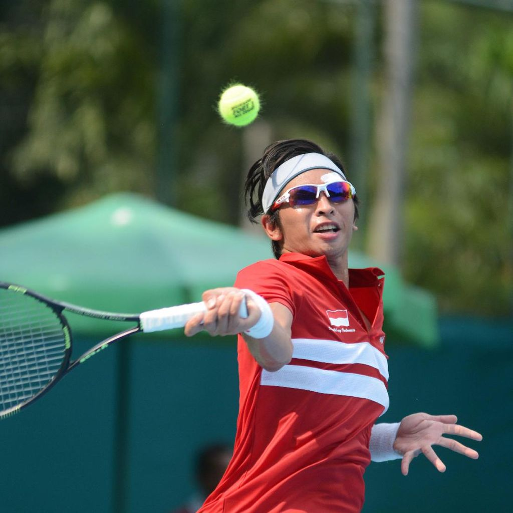 Christopher Rungkat Kejar Poin Wimbledon Sampai ke China