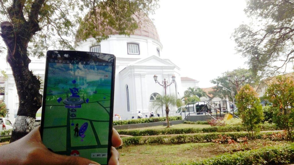 Wuih.. Pokestop di Semarang Dibekali WiFi Gratis