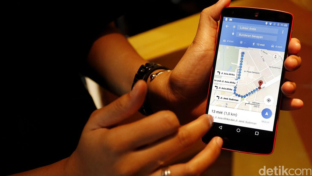Peluncuran Google Transit