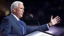 Cawapres Mike Pence Pidato di Konvensi Partai Republik