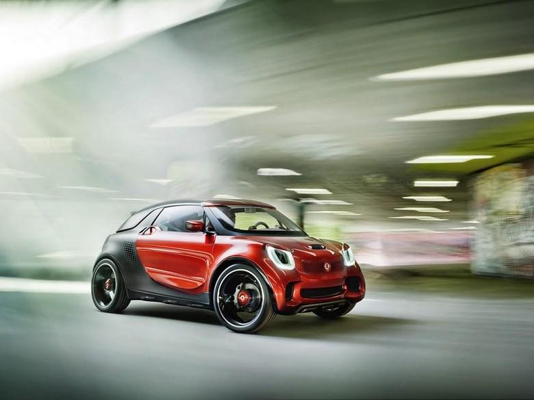 Smart Siapkan Model SUV?
