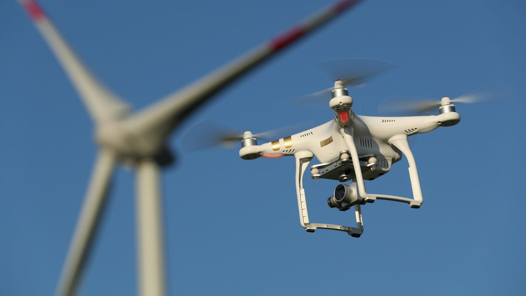 Drone DJI Nyaris Bubar Ditinggal Karyawan