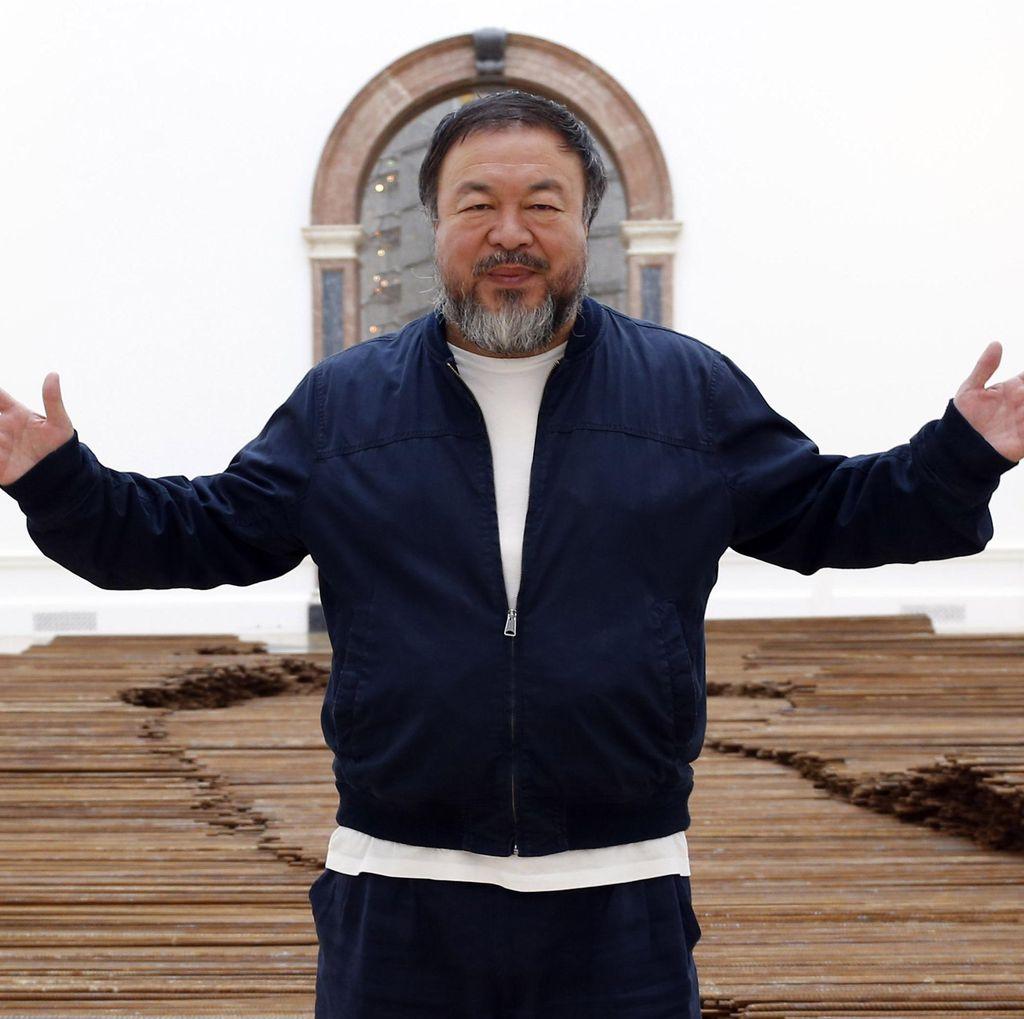 Potret Lego Ai Weiwei Mampir ke New York