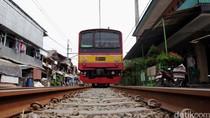 Stasiun Kampung Bandan Sempat Tak Dilewati KRL karena Genangan
