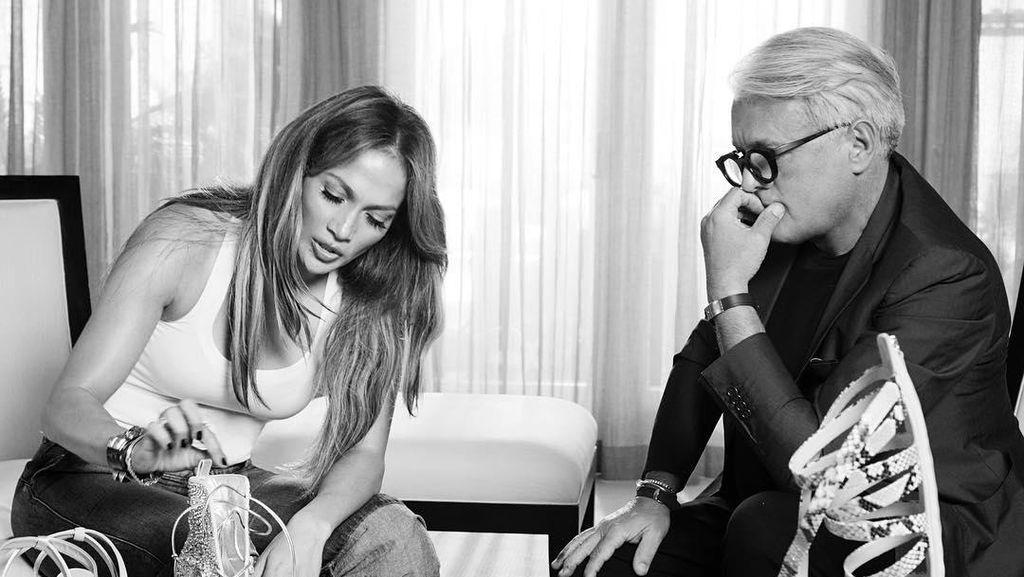 Kolaborasi dengan J-Lo, Giuseppe Zanotti Akan Rilis Koleksi Sepatu Seksi