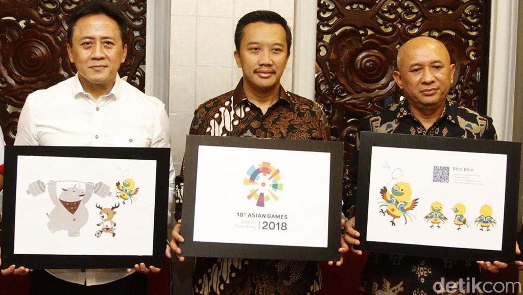Ini Dia Logo dan Maskot Baru Asian Games 2018