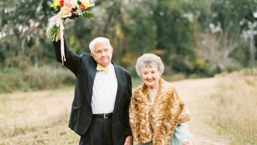 Surat Cinta Romantis dari Suami yang Sudah Menikah 63 Tahun dengan Istrinya