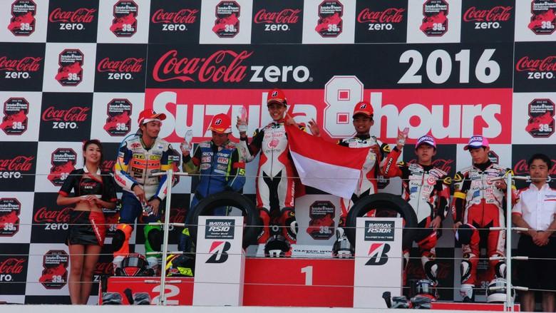Dua Pebalap Indonesia Rajai Suzuka 4 Hours Endurance Race