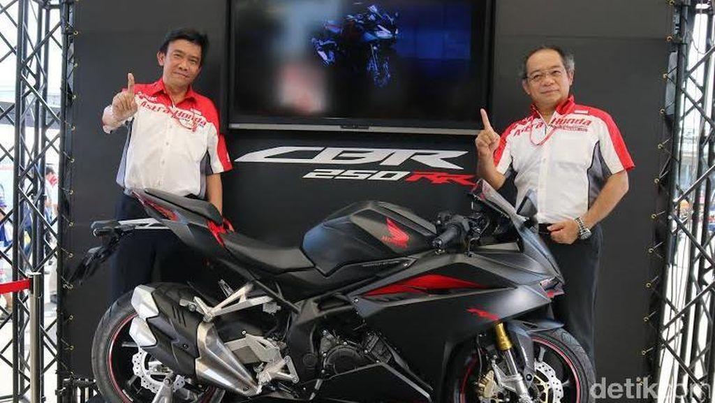 Honda Bawa CBR250RR Buatan Indonesia ke Jepang