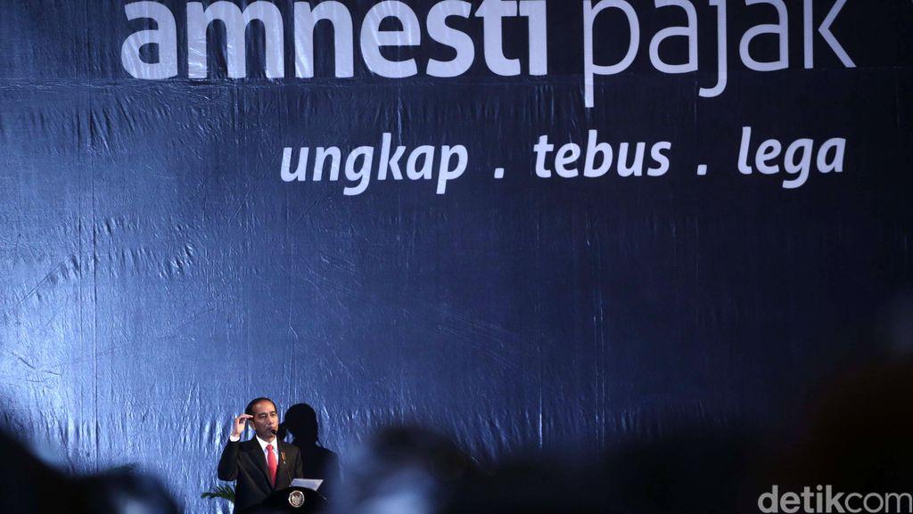 Tax Amnesty Tak Capai Target, Apa Kata Jokowi?