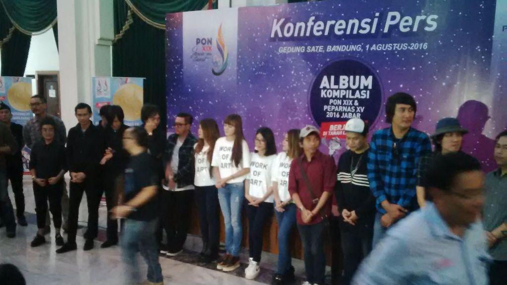 Sejumlah Musisi Garap Album Kompilasi PON Jabar 2016