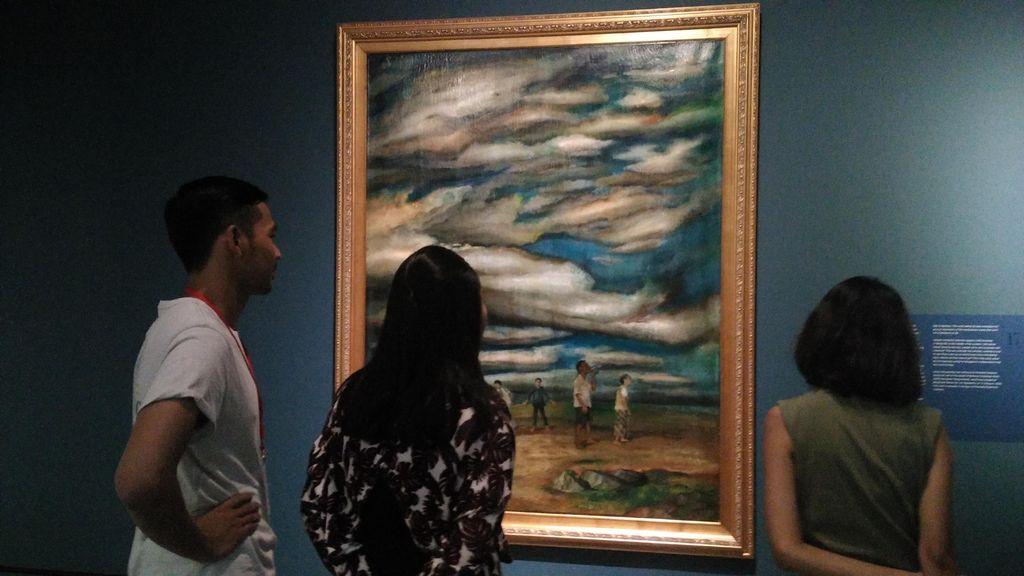 Lihat Koleksi Langka Lukisan Istana, Wisatawan Berdecak Kagum