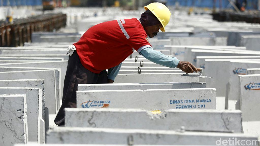 Waskita Beton Cetak Pendapatan Rp 3 T dari Proyek Tol Hingga LRT