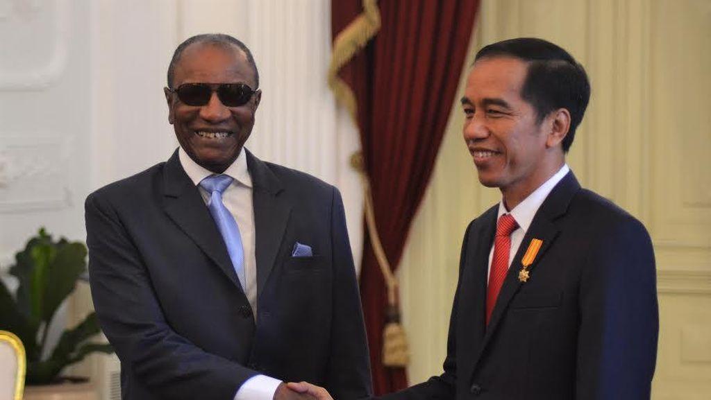 Bertemu Jokowi, Presiden Guinea Minta RI Investasi di Pertanian