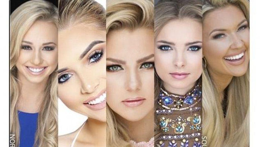 Foto: 5 Finalis Miss Teen USA yang Jadi Kontroversi karena Seperti Kembar