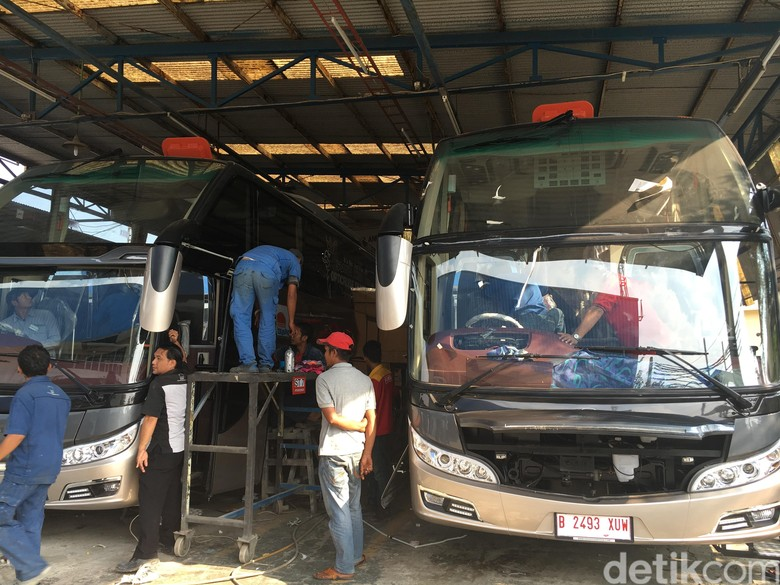 Eropa Jadi Kiblat Indonesia dalam Merakit Bus