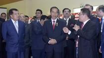 Disaksikan Jokowi, Menteri BUMN Sanjung Bos Telkom