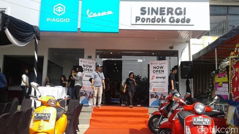 Piaggio Indonesia Buka Diler Resmi di Pondok Gede Bekasi