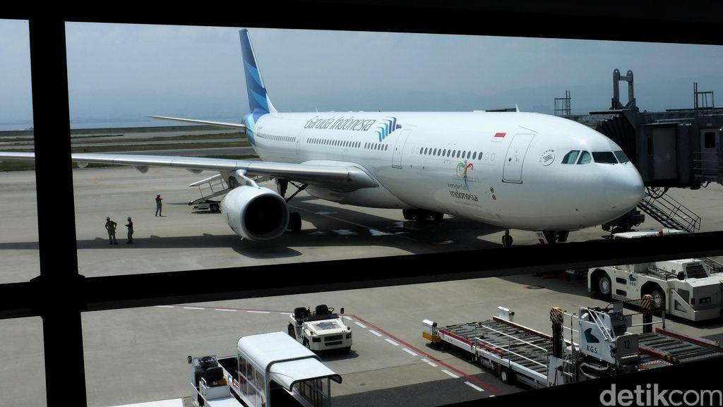 Garuda Manfaatkan Aset Bengkel Pesawat Milik Merpati