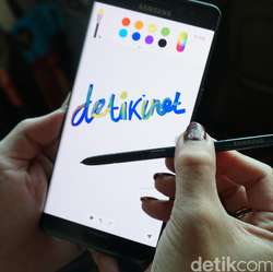 Menggoreskan Pena Ajaib Galaxy Note 7
