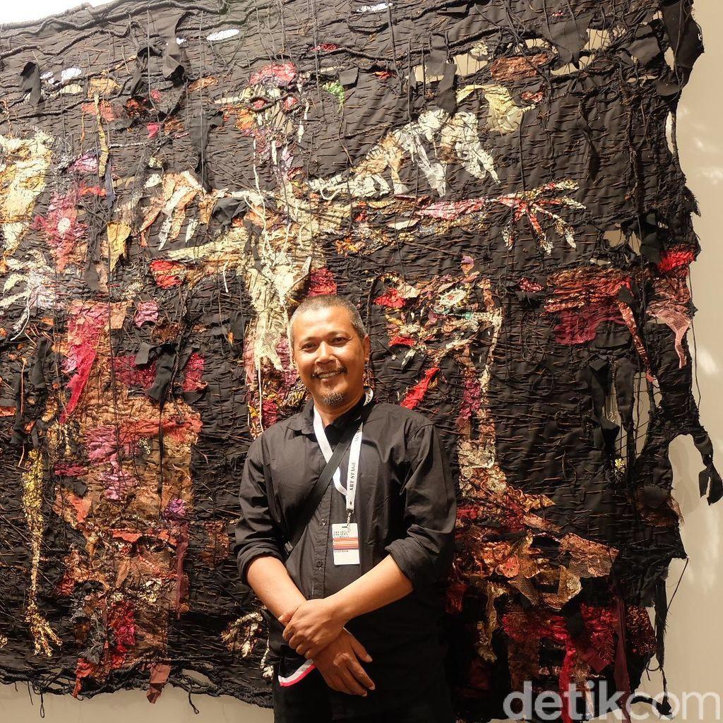 Gatot Pujiarto Terlibat Proyek Materialised Condition Bareng 8 Seniman Lain
