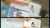 Kedapatan Pakai SIM Palsu, Sopir Pikap Diamankan Polantas Cianjur