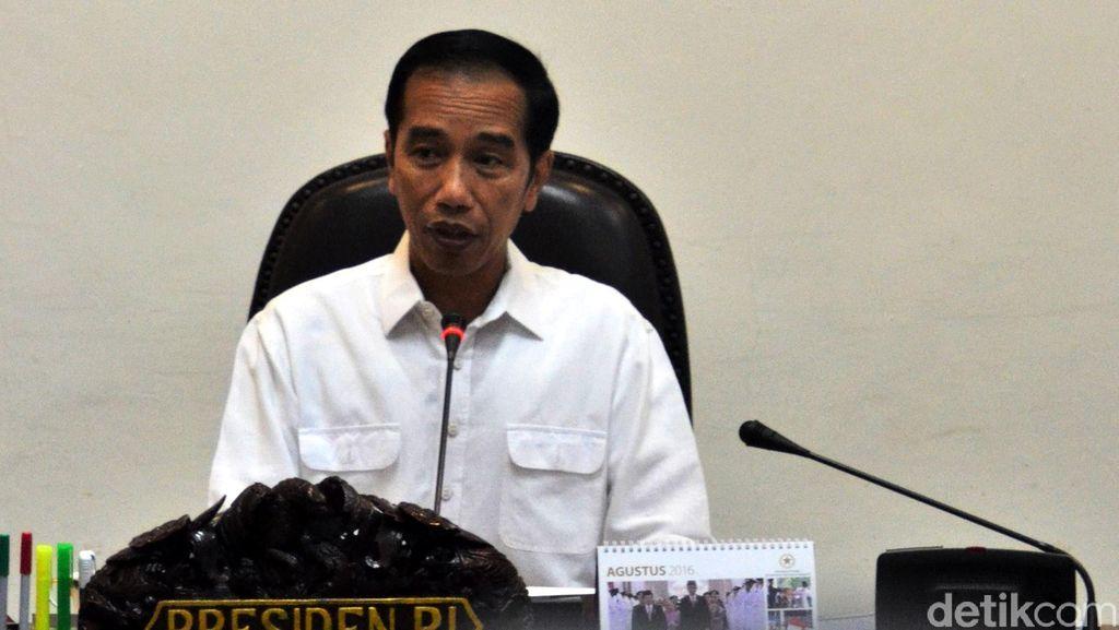 Jokowi Terima Pengurus Pusat Ikatan Hakim Indonesia di Istana