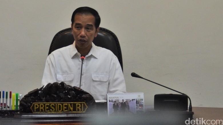 Jokowi Bagi-bagi Lampu Tenaga Surya ke Perbatasan Hingga Pulau Terluar