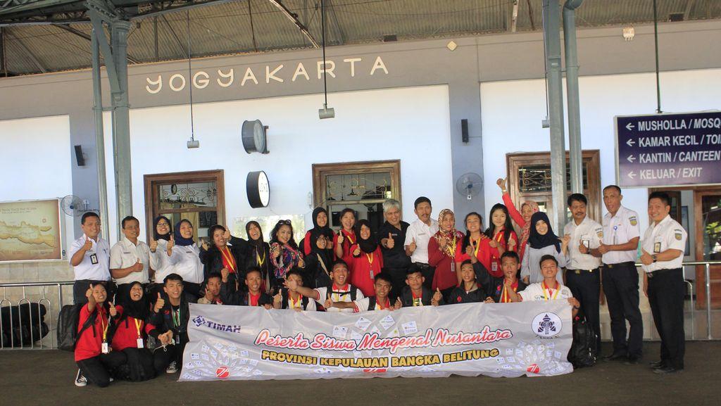 20 Siswa SMN Provinsi Bangka Belitung Kunjungi Yogyakarta