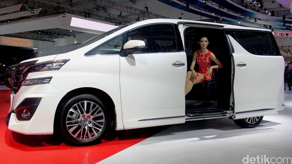 Di Malaysia, Toyota Vellfire Jadi Incaran Maling