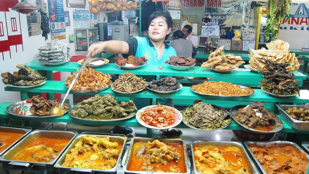 Nasi Kapau dan Nasi Minyak, Nasi Rames Sedap dari Pulau Sumatra