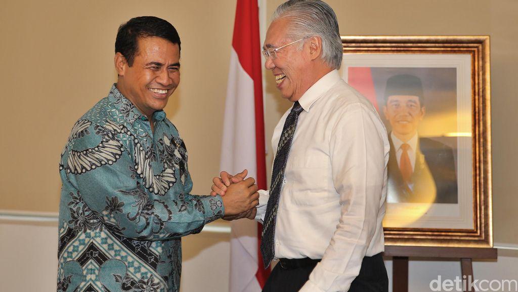 Duet Menteri Jokowi Berantas Penimbunan Bawang Putih