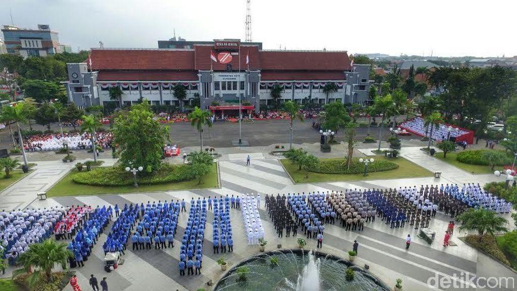 Surabaya Kebut Pencocokan Jumlah Penduduk Hingga Akhir Tahun