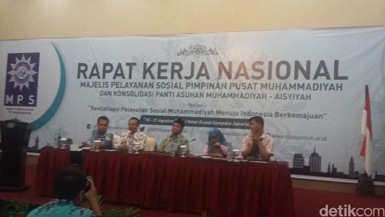 Buka Rakernas MPS PP Muhammadiyah, Mendikbud Harap Ada Relawan Ikut Pantau KIP