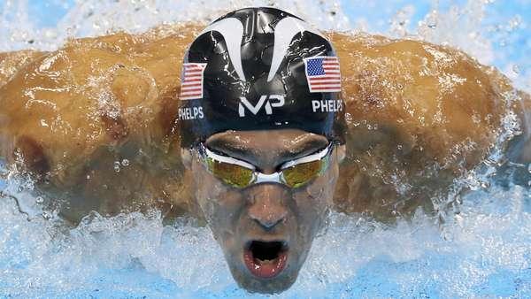 Phelps vs Hiu dan Perlombaan Manusia vs Hewan Lainnya