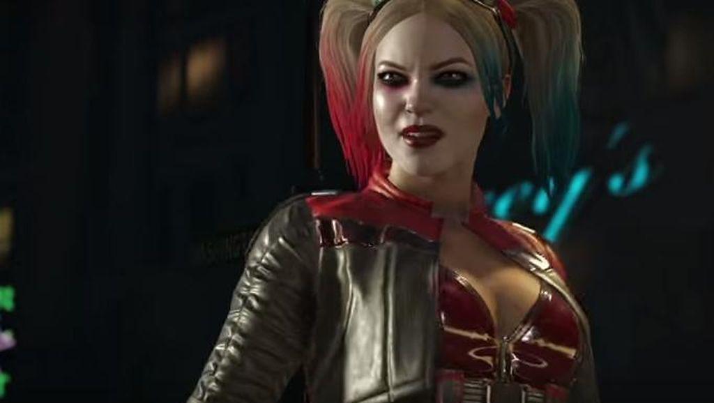 Deadshot dan Harley Quinn Adu Jotos di Injustice 2