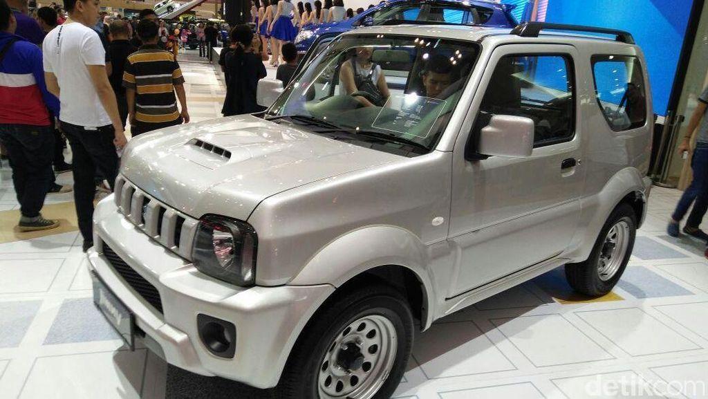 Suzuki Rilis Jimny dan Baleno Hatchback di Arena GIIAS