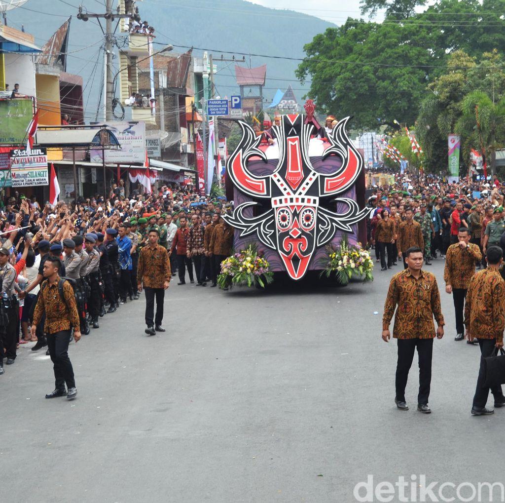 Karnaval Kemerdekan di Bandung Sabtu ini Berlangsung Pukul 14.00 WIB