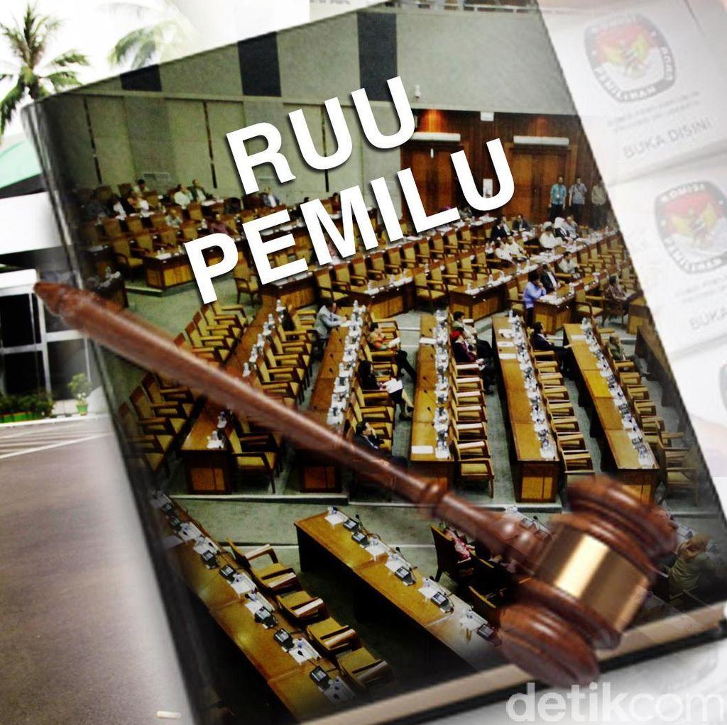 Komisi II DPR: RUU Pemilu Tidak Berlaku Surut
