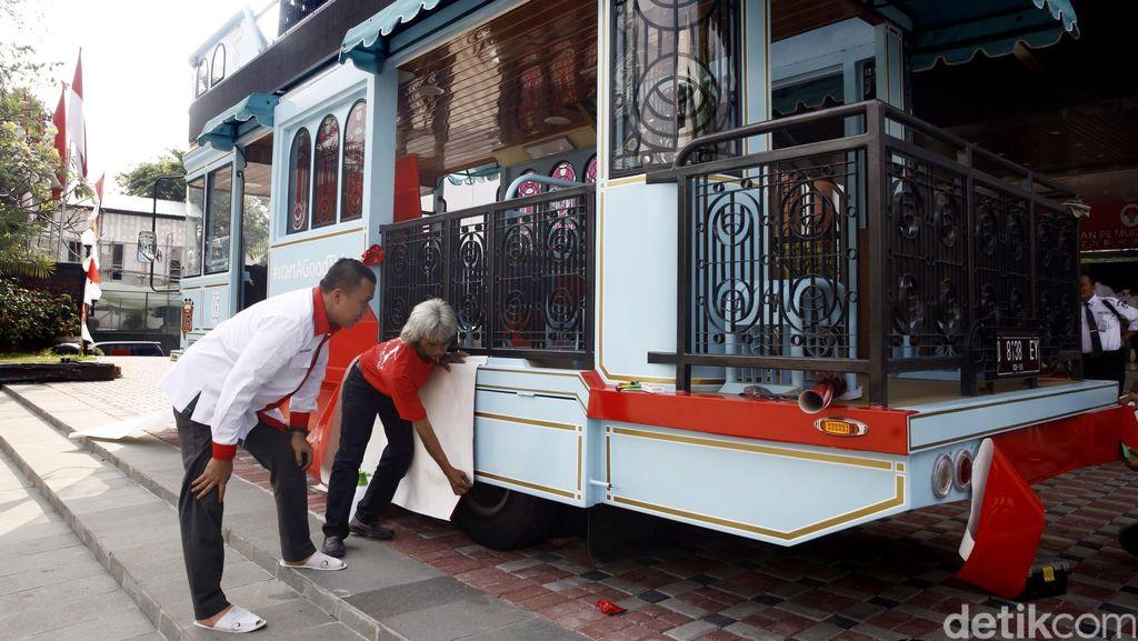 Ini Kendaraan untuk Arak-Arakan Owi/Butet di Jakarta