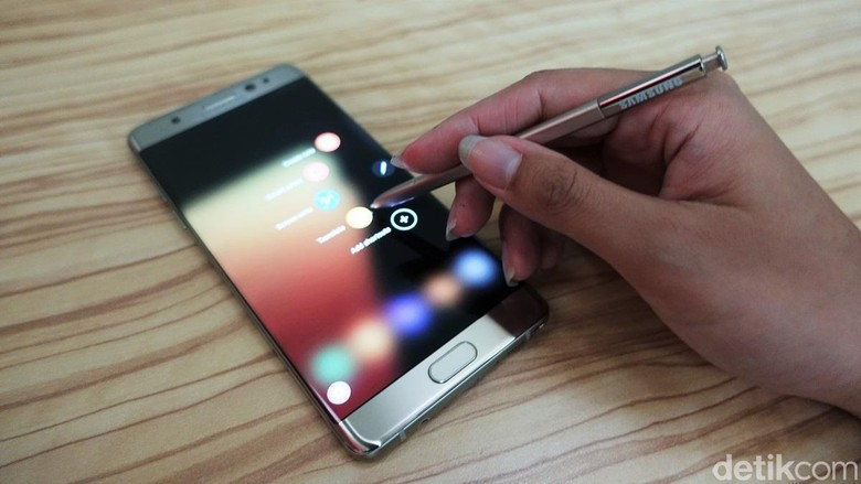Note 7 Ditarik dari Peredaran, Laba Samsung Berkurang Rp 1,8 Triliun