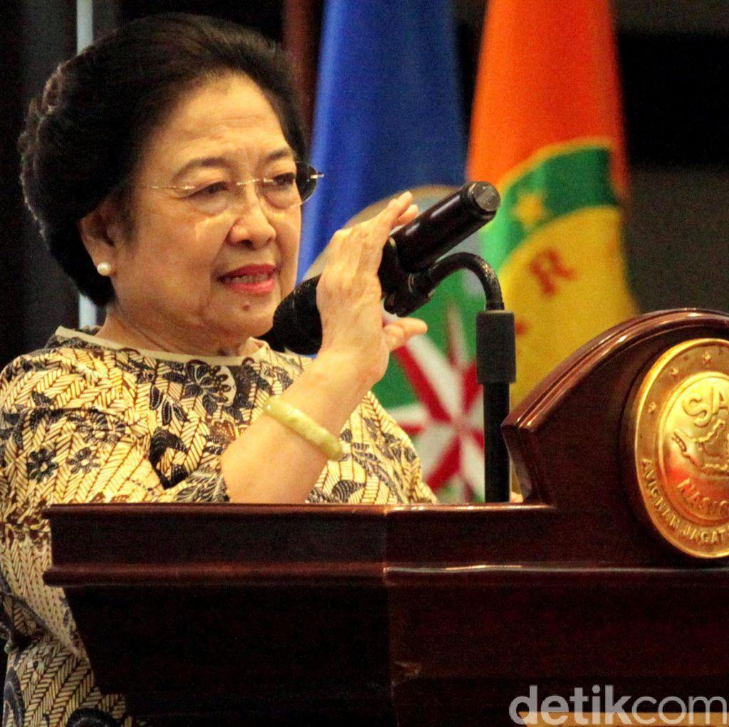 Megawati: Ancaman Proxy War Sangat Nyata